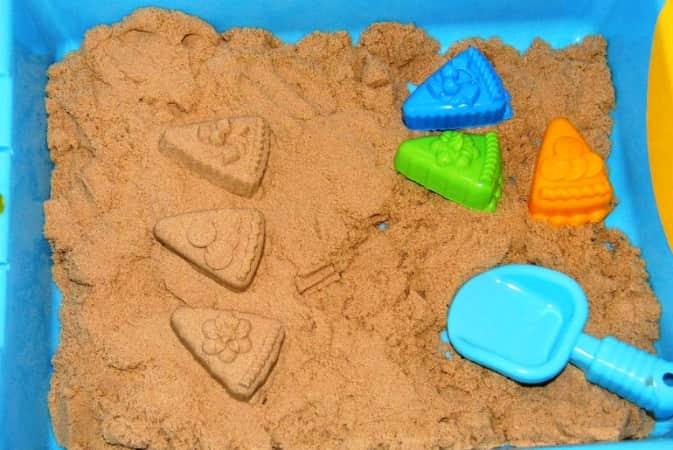 Кинетический песок своими руками в домашних условиях