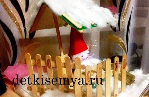 новогодняя игрушка поделка в садик своими руками