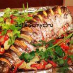 Блюдо из сазана в духовке с фото