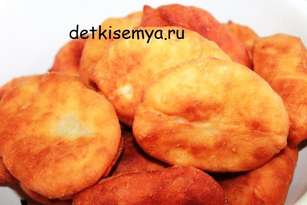 Пирожки с печенкой рецепт с фото