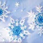 снежинки из бисера схемы плетения подробно