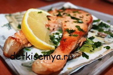 semga-zapechennaya-s-limonom-v-folge