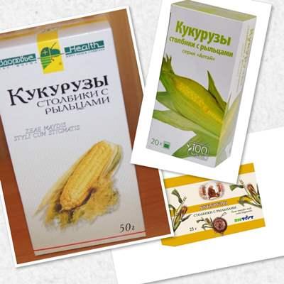 кукурузные рыльца рецепт
