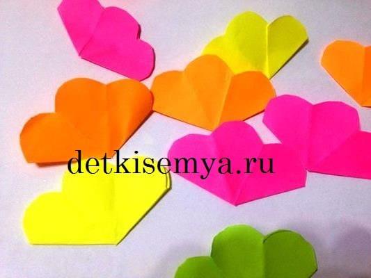 бумажные цветы для букета