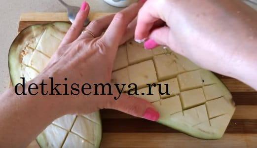 рагу из баклажанов в духовке