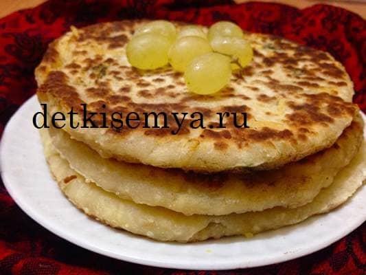 сырные лепешки к завтраку на сковороде