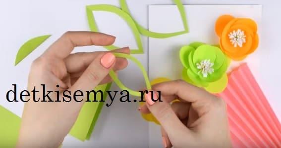 какую открытку сделать маме на день рождения