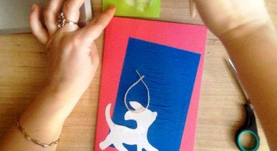 3д открытка для мамы своими руками