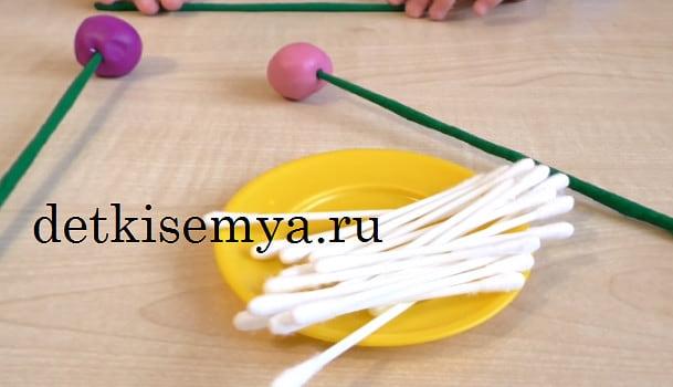 поделки для средней группы детского сада из пластилина