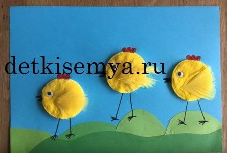 пасхальные поделки для детских садов