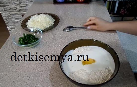 сырные лепешки на сухой сковороде