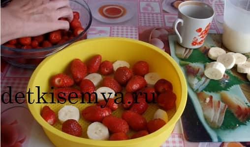 клубничный десерт рецепт