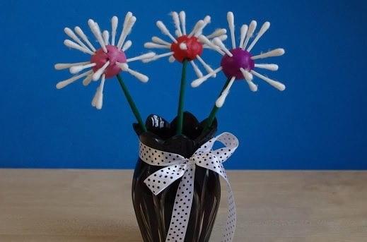 букет цветов из пластилина своими руками