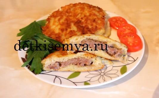драники из картошки с грибами рецепт
