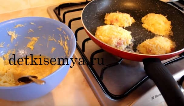 драники из картошки с фаршем рецепт пошагово