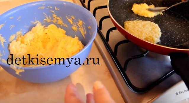 рецепт драников из картошки с яйцами