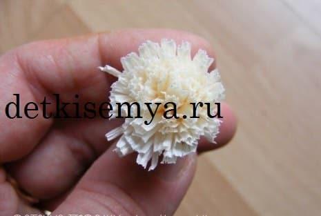 как сделать лилии из гофрированной бумаги