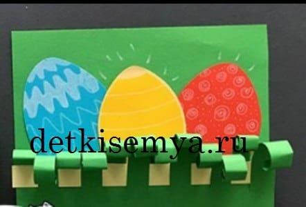 из чего можно сделать пасхальные яйца