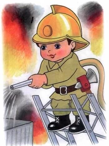 смешные поздравления в открытках для пожарника