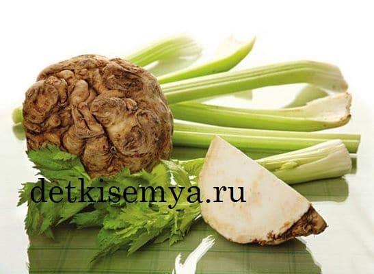 как кушать корень сельдерея