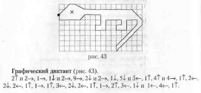 шаблоны для графического диктанта