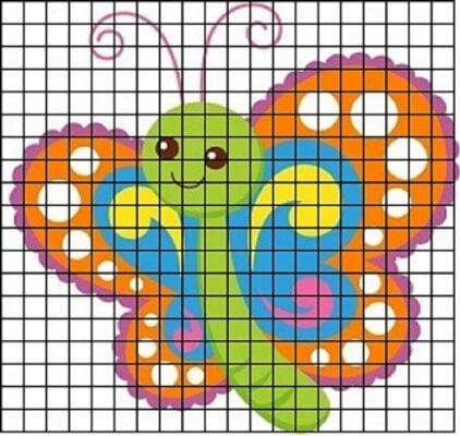 рисунки в тетради по математике