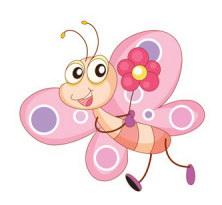 картинки раскраски бабочка