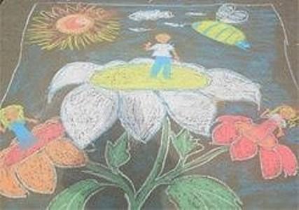 конкурс рисунков на асфальте 1 июня