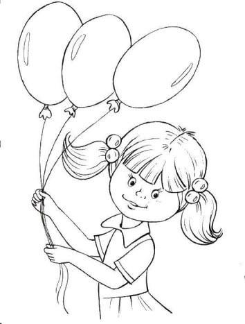 1 июня день защиты детей раскраски