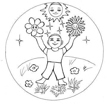 1 июня день защиты детей картинки раскраски