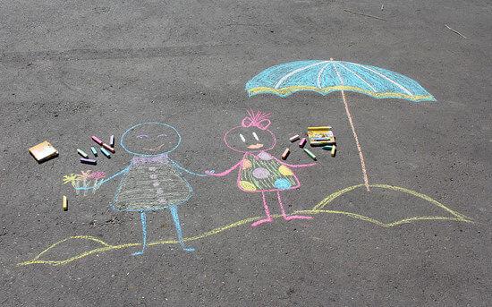 день защиты детей рисунок в садик