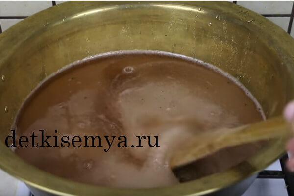 как варить сироп для варенья
