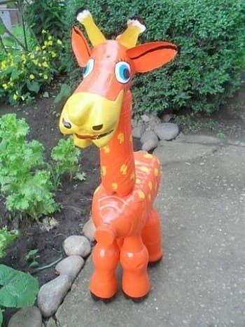 как сделать жирафа