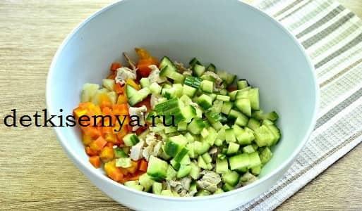 вкусный салат 2019