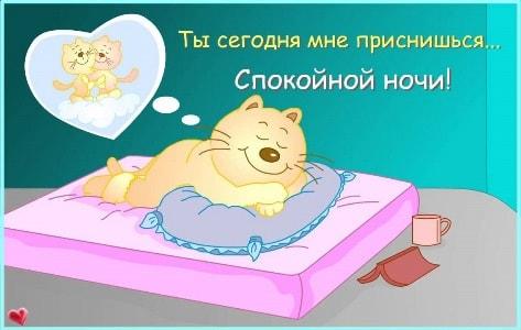 картинки для девушки спокойной ночи новые
