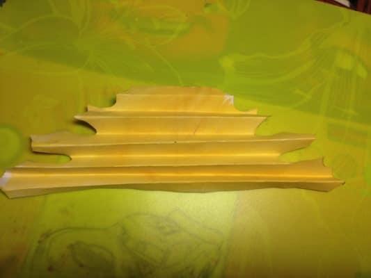 кленовый лист из бумаги шаблон