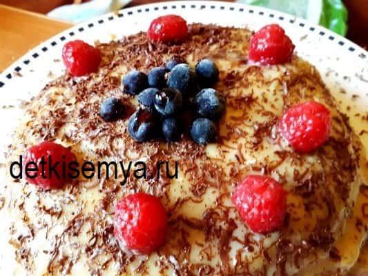 заварной крем для торта в домашних условиях пошаговый