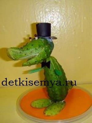 крокодил гена своими руками