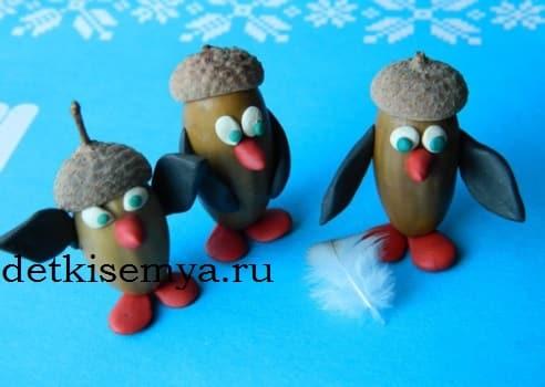 пингвины своими руками фото