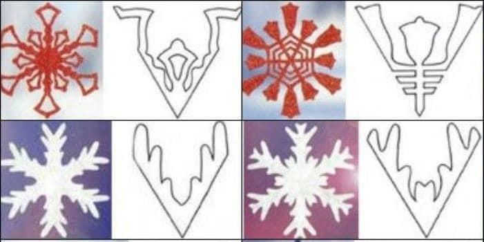 оконные украшения для зимы