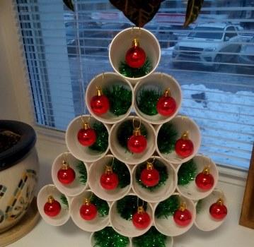 елка из конфет своими руками пошаговое фото на новый год