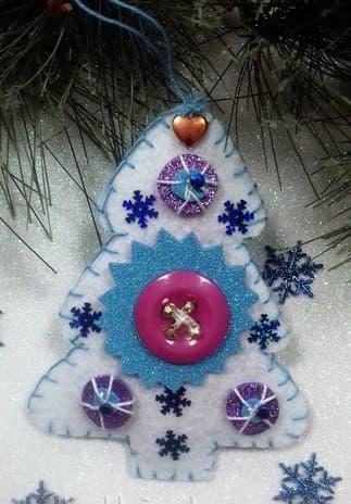игрушка елка на новый год своими руками