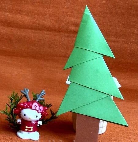 уличная елка своими руками на новый год