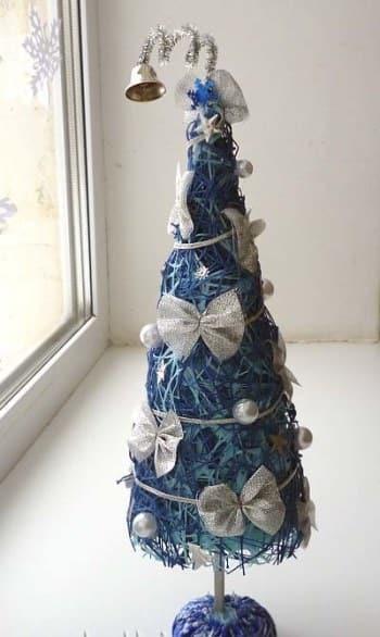 эксклюзивные елки на новый год своими руками