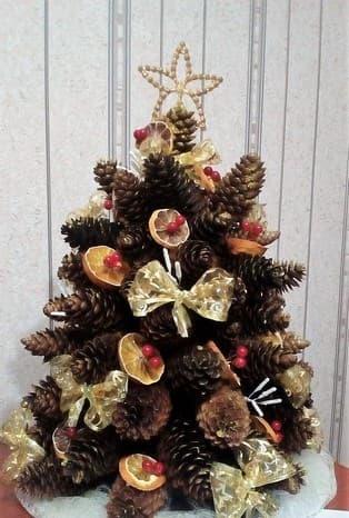 украшение елки на новый год своими руками