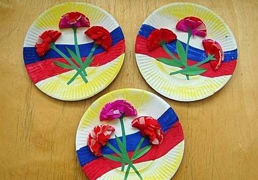 поделки на 23 февраля в детский сад из пластилина