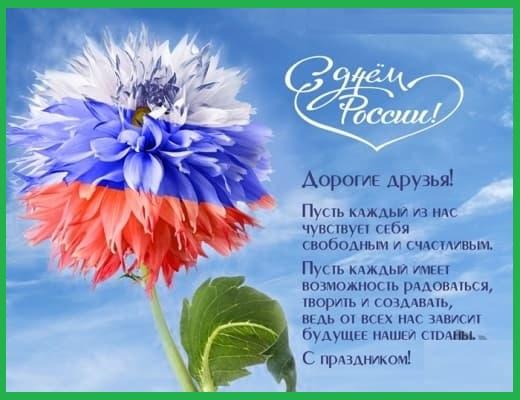 С Днем России картинки поздравления (прикольные)