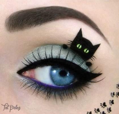 Хэллоуин 2019: макияж (легкий, домашний, страшный)
