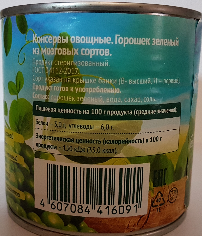 Зеленый горошек для салата. Выбираем лучший из 9 вариантов.