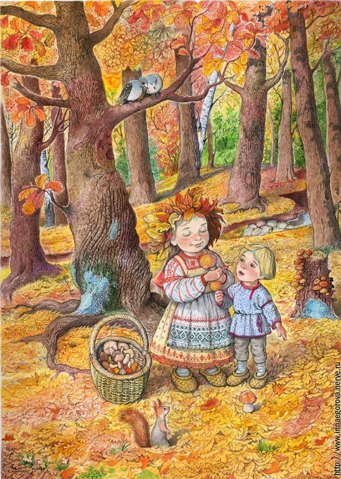 Детские загадки -Осень (новые - сентябрь 2020)